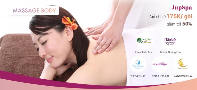 Massage Body, Saleoff50%, 175K, JupSpa