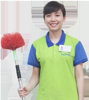 Nhân viên giúp việc của JupViec.vn